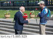 Купить «День Победы в Москве», фото № 5885929, снято 9 мая 2014 г. (c) Okssi / Фотобанк Лори