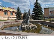 Купить «Фонтан на улице Гагарина, Клин, Московская область», эксклюзивное фото № 5895989, снято 18 апреля 2014 г. (c) lana1501 / Фотобанк Лори