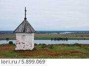 Часовня в Константиново (2009 год). Редакционное фото, фотограф Павел Бодров / Фотобанк Лори