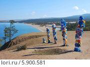 Озеро Байкал. Сарайский залив. Стоковое фото, фотограф Павел Бодров / Фотобанк Лори