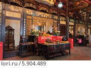 Купить «Храм Чэн Хун Тенг , Малайзия», фото № 5904489, снято 19 декабря 2013 г. (c) Elena Odareeva / Фотобанк Лори