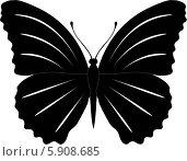 Бабочка. Стоковая иллюстрация, иллюстратор Марина Новожилова / Фотобанк Лори