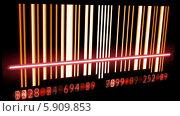Сканирование штрихкода. Стоковая анимация, видеограф Александр Дейнега / Фотобанк Лори