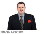 Купить «Неулыбчивый коммунистический функционер», фото № 5919489, снято 5 ноября 2013 г. (c) verbaska / Фотобанк Лори