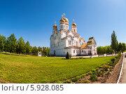 Преображенский собор в городе Тольятти. Стоковое фото, фотограф FotograFF / Фотобанк Лори