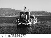 Купить «Самоходная баржа «Восток»», эксклюзивное фото № 5934277, снято 8 декабря 2011 г. (c) Валерий Акулич / Фотобанк Лори