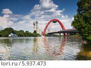 Купить «Москва-река и Живописный мост», фото № 5937473, снято 25 мая 2014 г. (c) Наталья Волкова / Фотобанк Лори