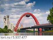 Купить «Москва-река и Живописный мост», фото № 5937477, снято 25 мая 2014 г. (c) Наталья Волкова / Фотобанк Лори