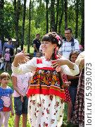 Купить «Праздник Троица В России, фольклор и народные гуляния», фото № 5939073, снято 23 июня 2013 г. (c) ElenArt / Фотобанк Лори