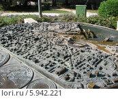 Макет города Пула. Хорватия (2008 год). Редакционное фото, фотограф Татьяна Чечина / Фотобанк Лори