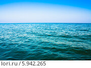 Купить «Морской пейзаж», фото № 5942265, снято 7 августа 2013 г. (c) g.bruev / Фотобанк Лори