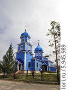 Церковь с. нероновка. Стоковое фото, фотограф Владимир Котенков / Фотобанк Лори