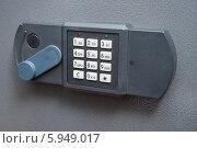 Купить «Электронный кодовый замок», эксклюзивное фото № 5949017, снято 6 мая 2014 г. (c) Dmitry29 / Фотобанк Лори
