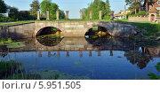Купить «Шлюз старого Ладожского канала 18-го века  в Шлиссельбурге», эксклюзивное фото № 5951505, снято 23 мая 2014 г. (c) Александр Алексеев / Фотобанк Лори