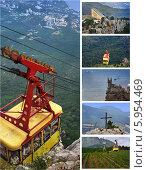 Купить «Крымские  виды из канатной дороги», фото № 5954469, снято 28 июля 2010 г. (c) Aleksander Kaasik / Фотобанк Лори