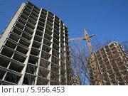 Строительство домов. Стоковое фото, фотограф Галина Карпова / Фотобанк Лори