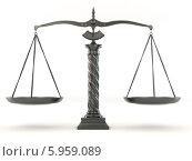 Купить «Весы», иллюстрация № 5959089 (c) Maksym Yemelyanov / Фотобанк Лори