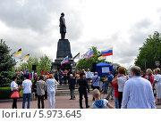 Митинг в Севастополе в поддержку жителей Донбаса. Редакционное фото, фотограф Светлана Пирожук / Фотобанк Лори