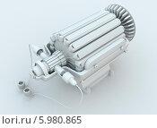 Купить «Электродвигатель», иллюстрация № 5980865 (c) FieryLion / Фотобанк Лори