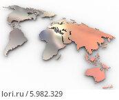 Купить «Карта мира», иллюстрация № 5982329 (c) Maksym Yemelyanov / Фотобанк Лори