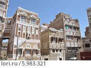Купить «Йемен, Сана, архитектура старого города», фото № 5983321, снято 18 марта 2014 г. (c) Овчинникова Ирина / Фотобанк Лори