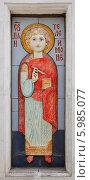 Купить «Святой великомученик и целитель Пантелеимон», эксклюзивное фото № 5985077, снято 8 мая 2014 г. (c) Александр Гаценко / Фотобанк Лори