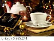 Купить «Чайная композиция», фото № 5985241, снято 26 января 2014 г. (c) Виктор Топорков / Фотобанк Лори