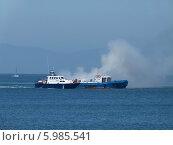 Купить «Катер береговой охраны», фото № 5985541, снято 31 мая 2014 г. (c) Корнилова Светлана / Фотобанк Лори