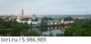 Купить «Панорамный вид на Новодевичий монастырь. Москва», эксклюзивное фото № 5986989, снято 9 мая 2012 г. (c) Литвяк Игорь / Фотобанк Лори