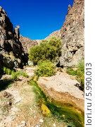 Долина водопада Дарвин в национальном парке Долина Смерти, Калифорния (2013 год). Стоковое фото, фотограф Aleksandr Stzhalkovski / Фотобанк Лори