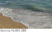 Волна набегает на берег. Стоковое фото, фотограф Ирина Каралкина / Фотобанк Лори