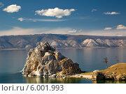 Купить «Мыс Бурхан на острове Ольхон, Россия», фото № 6001993, снято 28 мая 2014 г. (c) Николай Винокуров / Фотобанк Лори