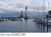 Марина Линдау. Боденское озеро., фото № 6002341, снято 10 мая 2014 г. (c) GrayFox / Фотобанк Лори