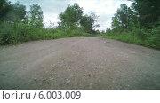 Купить «Сельская дорога», видеоролик № 6003009, снято 12 июня 2014 г. (c) Иван Четвериков / Фотобанк Лори