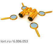 Купить «Бинокль и увеличительные лупы», иллюстрация № 6006053 (c) Maksym Yemelyanov / Фотобанк Лори