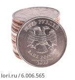 Купить «Россия. Монета номиналом Два рубля», фото № 6006565, снято 2 января 2013 г. (c) Литвяк Игорь / Фотобанк Лори