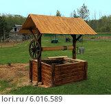 Деревенский колодец. Стоковое фото, фотограф EgleKa / Фотобанк Лори