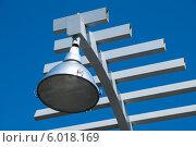 Купить «Фрагмент фонаря на фоне неба в Перми», фото № 6018169, снято 15 мая 2012 г. (c) Elena Monakhova / Фотобанк Лори