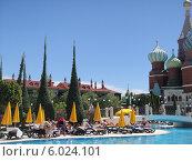 WOW Kremlin Palace 5*- отель турецкого фешенебельного курорта Кунду (2012 год). Редакционное фото, фотограф Лыкова Марина / Фотобанк Лори