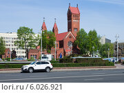Костел святых Симеона и Елены (2014 год). Редакционное фото, фотограф Евгений Самсонов / Фотобанк Лори