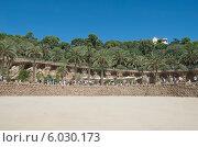 Купить «Парк Гуэль (Park Guell). Барселона. Испания», эксклюзивное фото № 6030173, снято 16 сентября 2013 г. (c) Svet / Фотобанк Лори