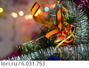 Купить «Новогодняя декорация», фото № 6031753, снято 3 января 2014 г. (c) Любовь Назарова / Фотобанк Лори