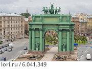 Купить «Нарвские Триумфальные ворота на площади Стачек. Санкт-Петербург», фото № 6041349, снято 24 июня 2014 г. (c) Sashenkov89 / Фотобанк Лори