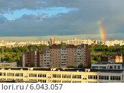 Купить «Город после грозы», фото № 6043057, снято 25 июня 2014 г. (c) Валерия Попова / Фотобанк Лори