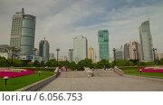 Купить «Парк в Шанхае, таймлапс», видеоролик № 6056753, снято 23 июня 2014 г. (c) Кирилл Трифонов / Фотобанк Лори