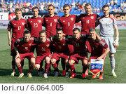 Купить «Сборная России по футболу», фото № 6064005, снято 26 мая 2014 г. (c) Alexander Nesterov / Фотобанк Лори