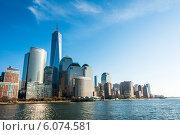Купить «Panorama of downtown Manhattan», фото № 6074581, снято 22 декабря 2013 г. (c) Elnur / Фотобанк Лори
