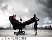 Купить «Bossy businessman», фото № 6080589, снято 4 апреля 2020 г. (c) Sergey Nivens / Фотобанк Лори