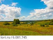 Пейзаж средней полосы России (2012 год). Стоковое фото, фотограф Зобков Георгий / Фотобанк Лори