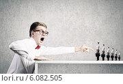 Купить «Aggressive boss», фото № 6082505, снято 4 апреля 2020 г. (c) Sergey Nivens / Фотобанк Лори